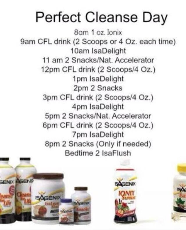 1000+ ideas about 9 Day Cleanse on Pinterest | Isagenix, 30 day ...