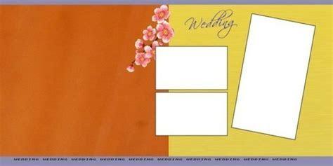Indian Wedding Album PSD Background Free Downlo