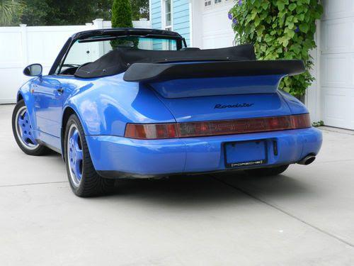 Buy Used Porsche 964 Factory Wide Body Cabriolet In