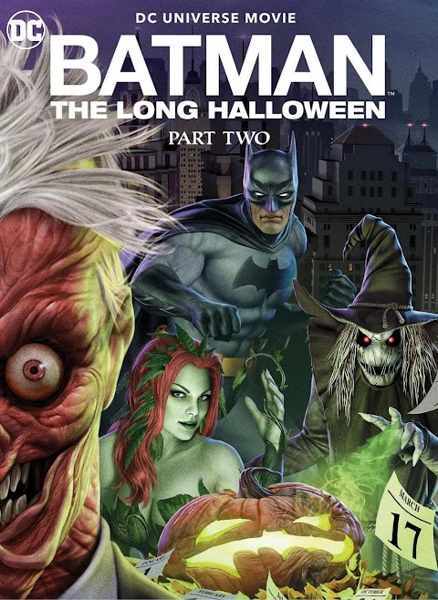 Batman: The Long Halloween, Part Two (2021) 480p 720p 1080p WebRip English Full Movie