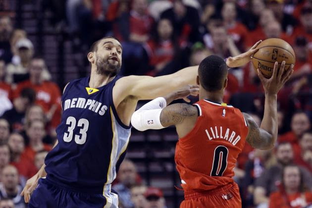 Memphis Grizzlies vs. Portland Trail Blazers: Live Score, Analysis for Game 3