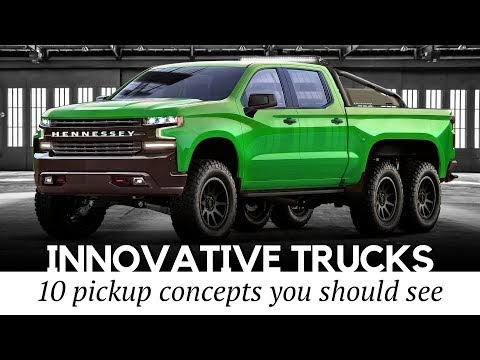 Top 10 Custom Pickup Trucks with Innovative Powertrains and Futuristic Designs