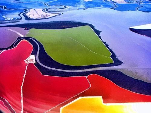 634878493280500000 Tuyệt vời sắc màu của ruộng muối ở San Francisco