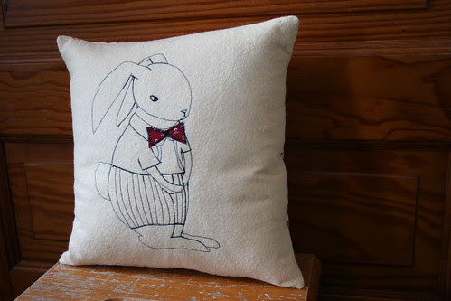 Bunny Stitch Pillow
