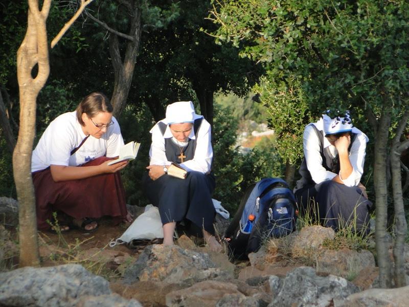 nuns on Podbrdo