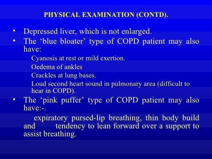 copd blue bloater type perokok o