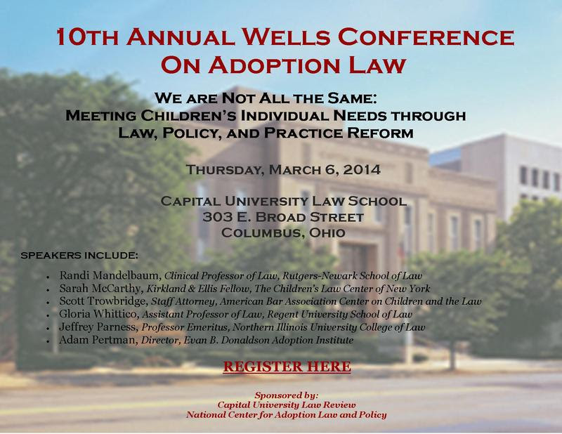 10th Annual Wells Conference Save the Date final 2