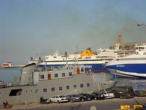 Hellenic Navy Ship Pandora A-419 (Personel tra...