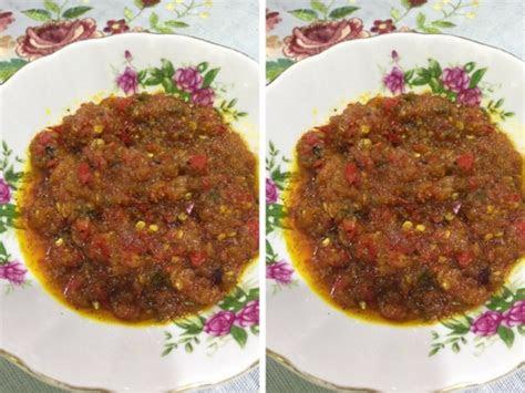 resipi sambal belacan goreng enak dipadankan  nasi