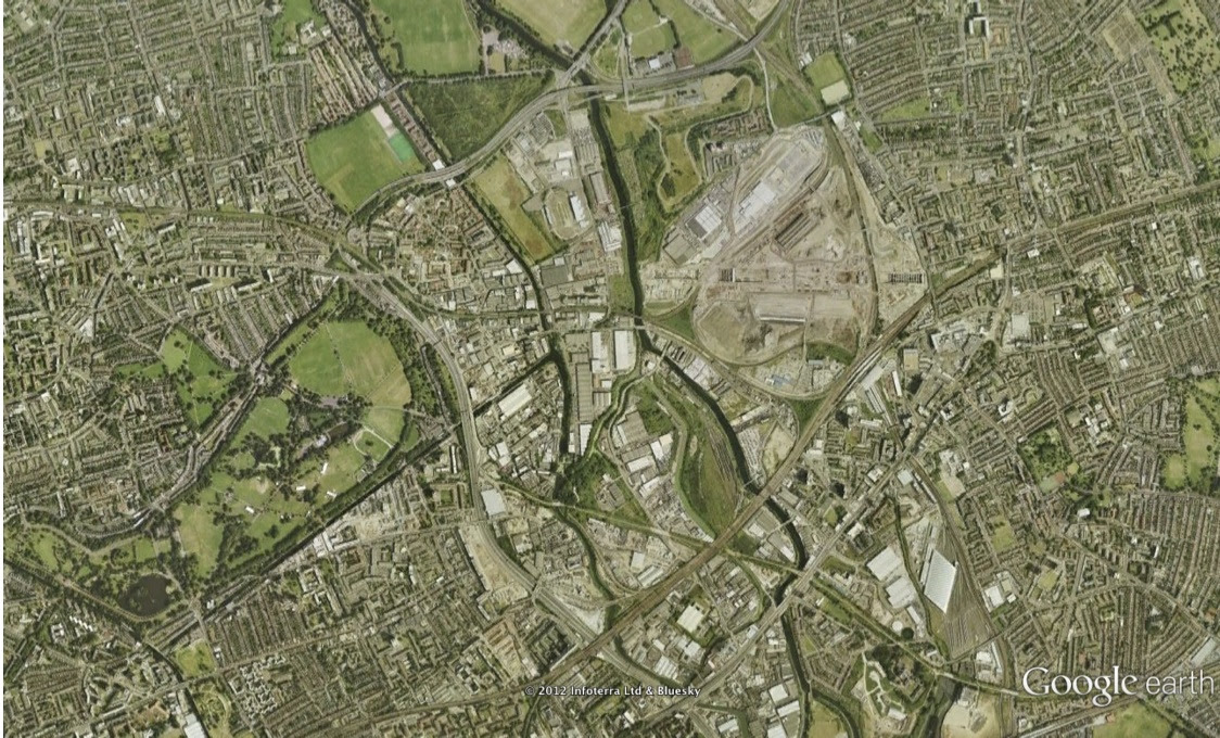 2012 London Olympic Park Through Time Active History
