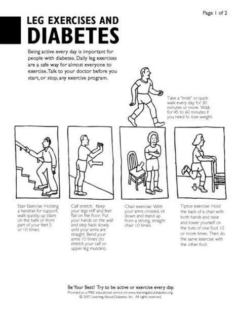 Diabetes Information PDF Forms for Consumers : Learning