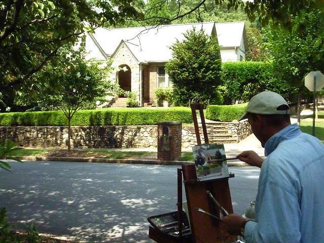 P1100437-2012-07-18-Charles-Cashwell-Fine Portraits-House-Portrait-Pelham