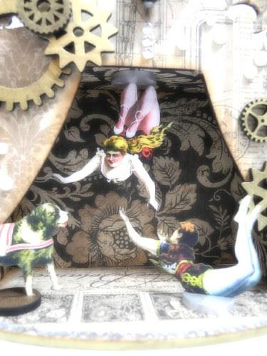 Steampunk Circus Shrine detail