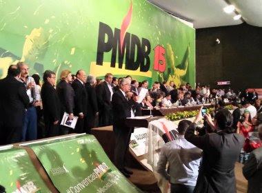 PMDB quer retomar sigla MDB, usada no período da ditadura militar