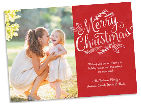 50 Christmas Photo Cards For 10 Utah Sweet Savings