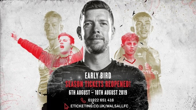 Over 400 Early Bird Season Tickets Were Sold During Offer's Brief Return