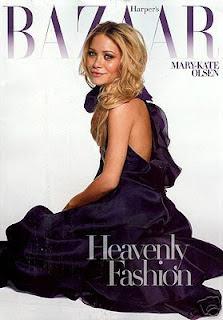 Mary Kate Olsen - Bazaar Magazine