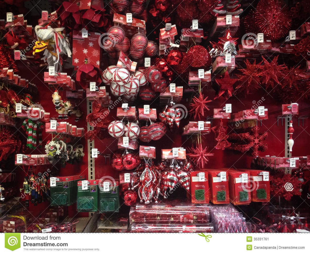 christmas ornaments for sale editorial photo image 35331761 - Christmas Decorations Sale Online