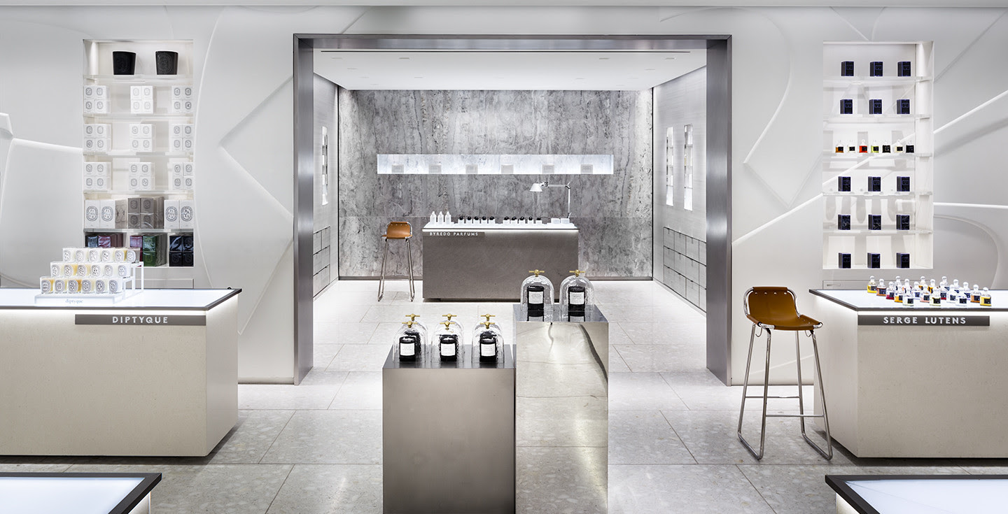 Steven Harris Architects Llp Barneys New York Cosmetics