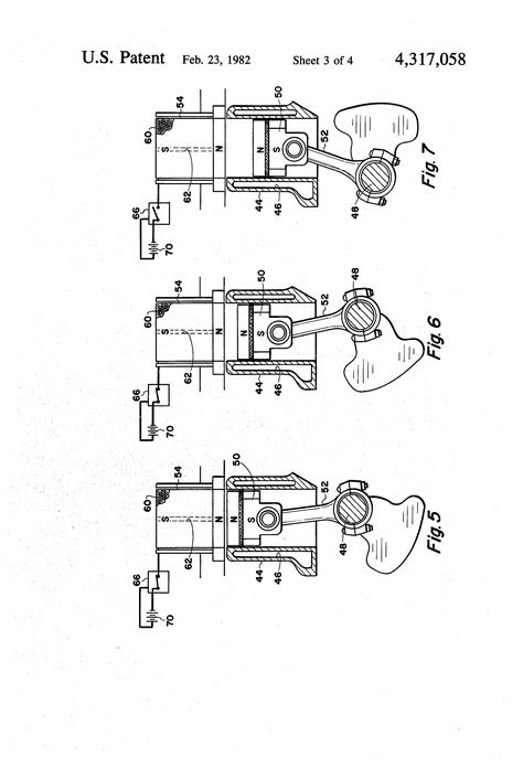 Patent US4317058 - Electro-magnetic reciprocating engine