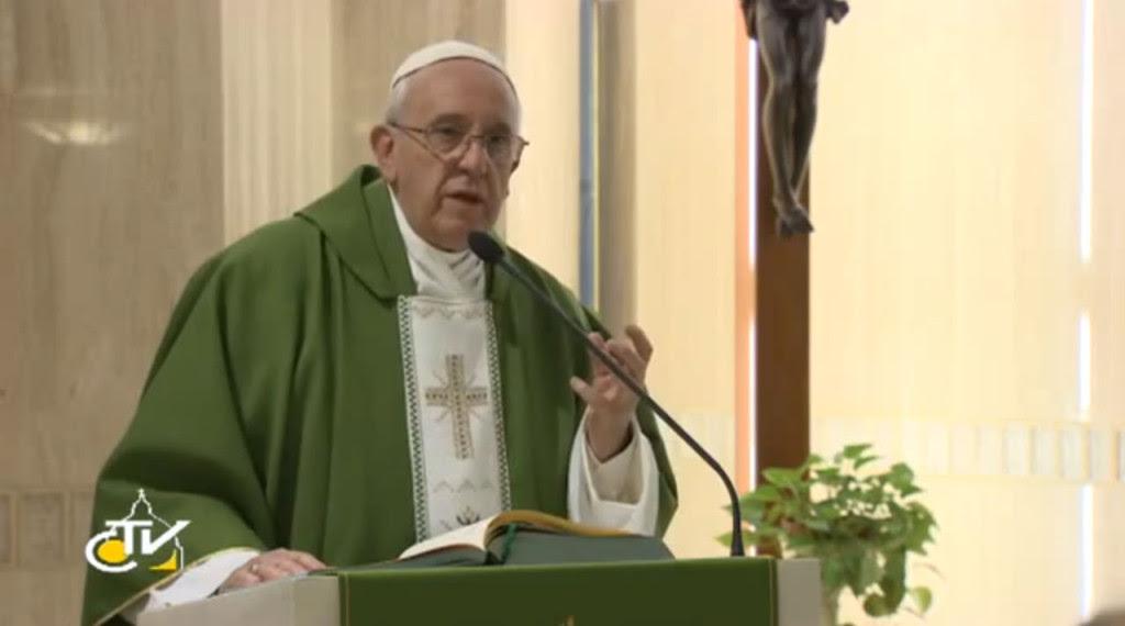 papa omelia santa marta