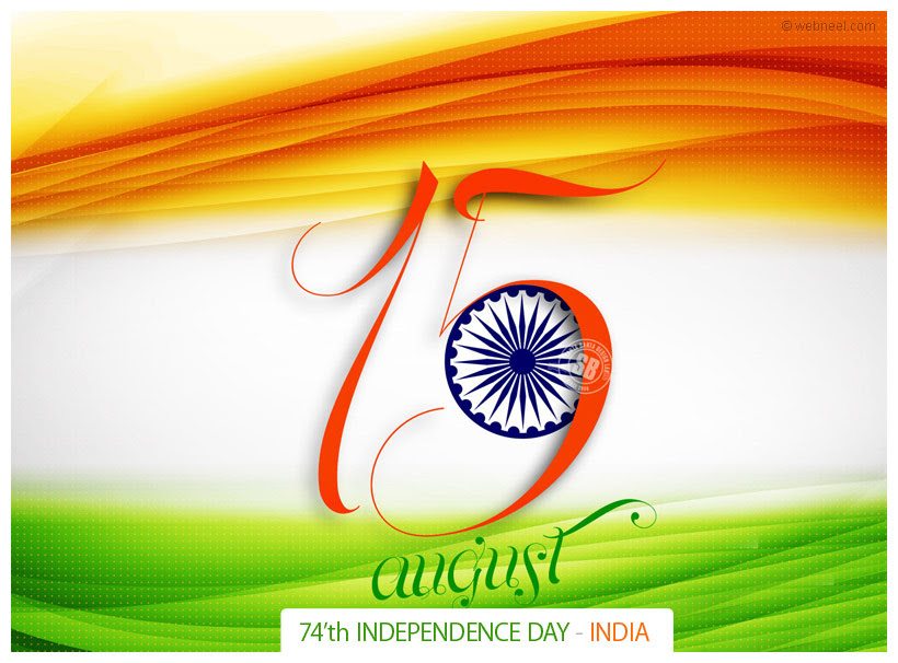 Happy Independence Day Greetings Full Image