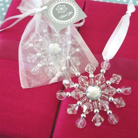 Winter Wedding Favors/ Christmas Wedding Favors Ideas