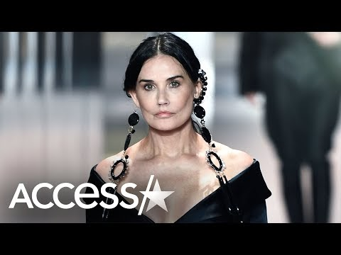 Demi Moore shocked her fans with a brand new face (VIDEO)