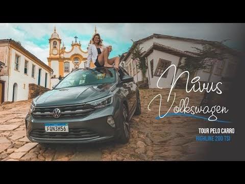 Tour pelo carro: Nivus Volkswagen 1.0 200 TSI Highline