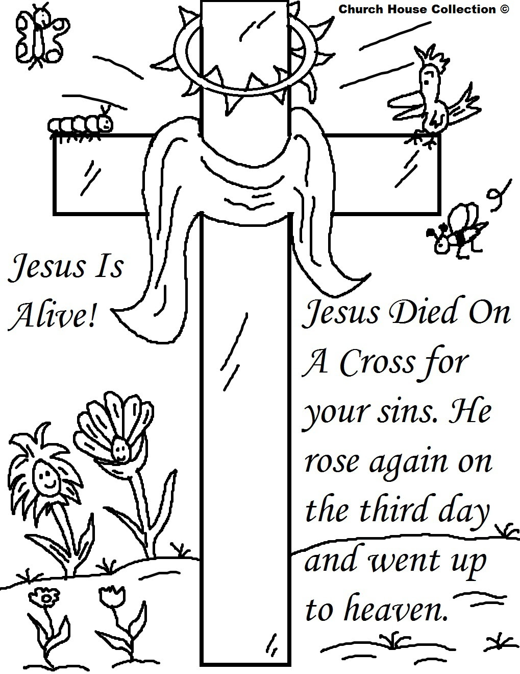 9000 Top Free Bible Coloring Pages Easter Images & Pictures In HD