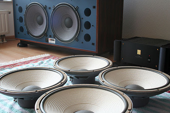 JBL 4350B with 135A
