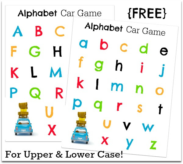 20+ Car Games and Activities
