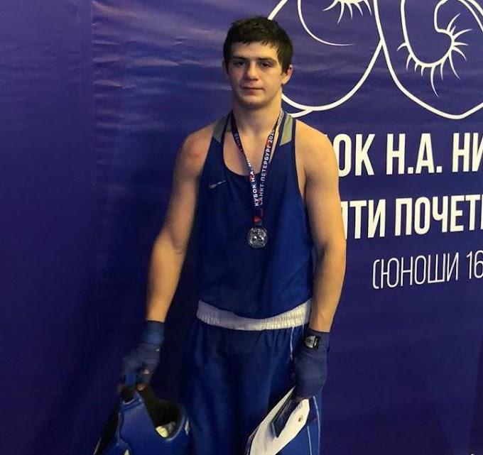 Нижневартовский боксер стал вторым в Санкт-Петербурге