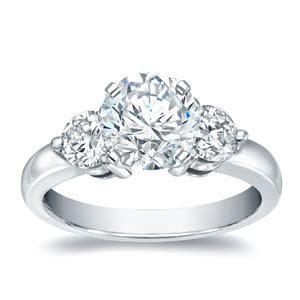 Three Stone Engagement Rings   Diamond Wish