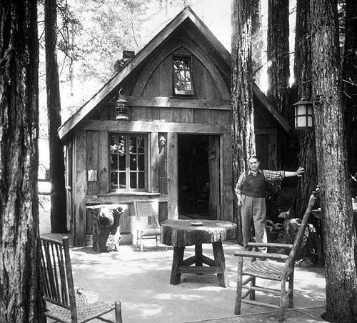 Cabaña en el Bohemian Grove