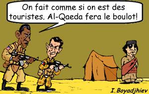 Obama et Sarkozy en Libye