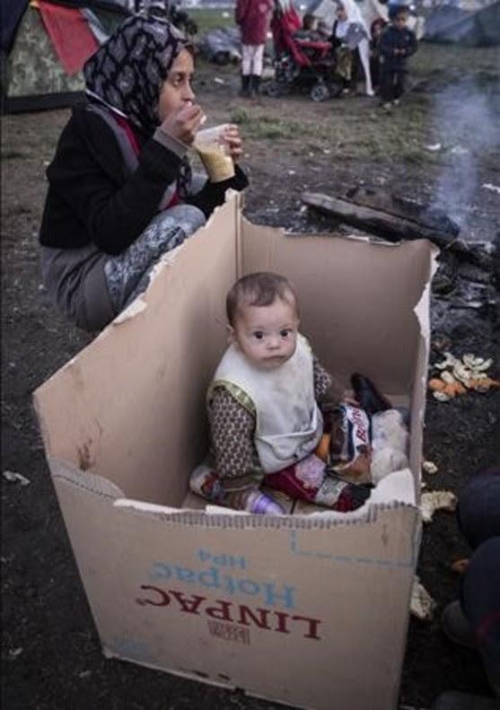 Quatre imatges icòniques de la crisi dels refugiats