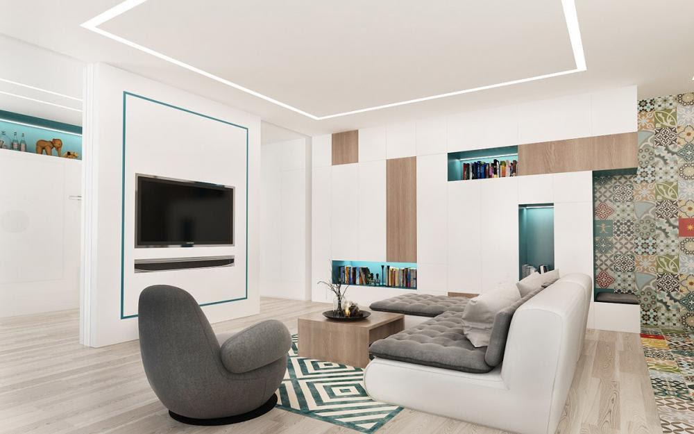 nội thất trong căn hộ