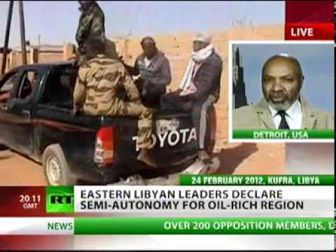 Abayomi Azikiwe, editor of the Pan-African News Wire, was featured on RT satellite television on March 6, 2012 speaking on the current situation in the North African state of Libya. The country has been under attack by imperialism for over a year. by Pan-African News Wire File Photos