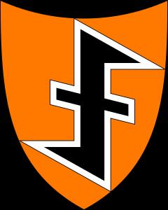 Guillem d'Orange era un sobirà provinent dels Països Baixos, on aquest color era també present. Aquest és l'emblema dels col·laboradors nazis dels Països Baixos durant la IISG.