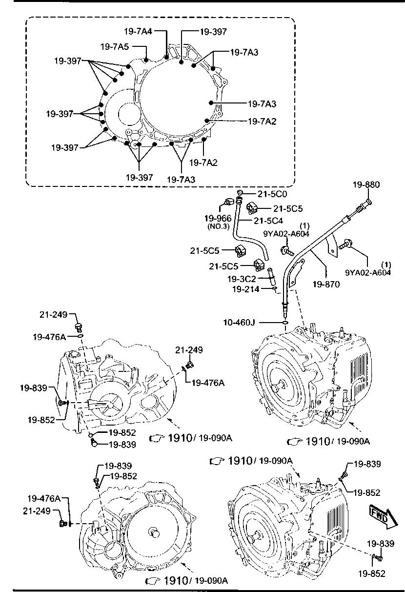 2008 Mazda Cx 9 Parts Diagram