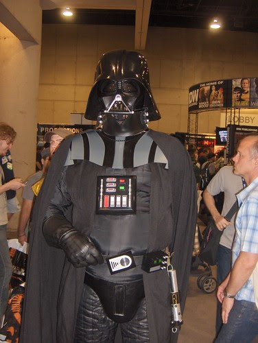 Sith Lord Darth Vader and his dark force codpiece