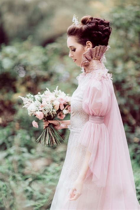 Styled Shoot: Utterly Romantic Pink Couture Wedding Dress