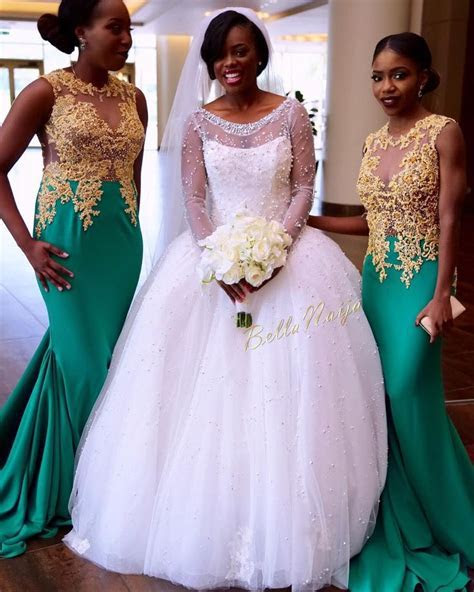 A true West African wedding Congrats Liberian Earlinda