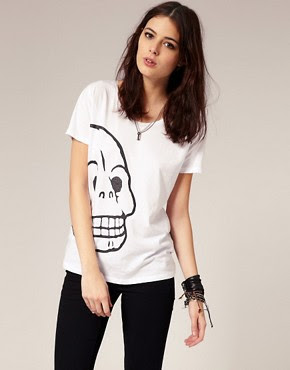 Image 1 of Cheap Monday Skull T-Shirt