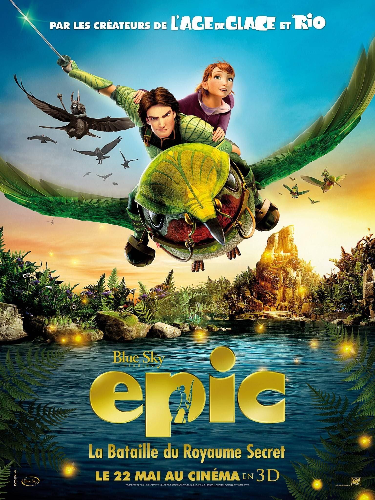 Epic Title: Epic Release Date: 24/05/13 Genre: Animation