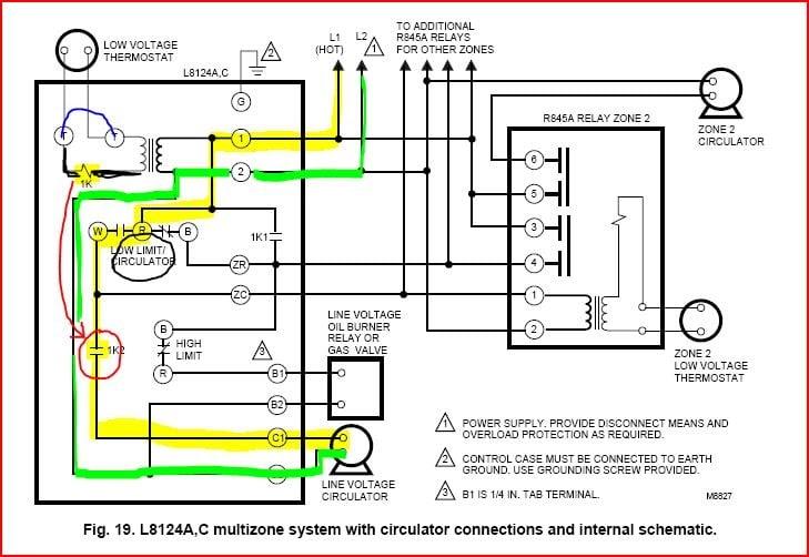 24 Volt Thermostat Wiring Diagram