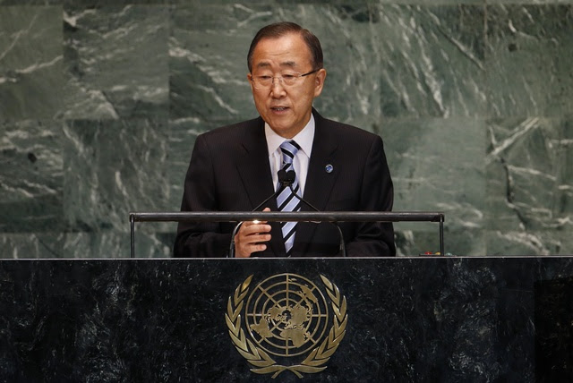 UN Secretary-General Ban Ki-moon said on Thursday there's much to be done to ensure accountability for the perpetrators of crimes against Muslim Rohingyas in Burma. (Reuters)