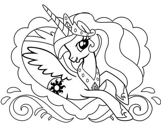 My Little Pony Princess Celestia And Heart My Little Pony Games