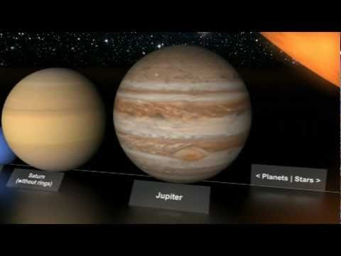 planets compared to each other - photo #4
